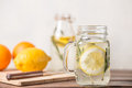 Glass of lemonade Royalty Free Stock Photo