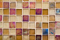 Glass mosaic tile Royalty Free Stock Photo