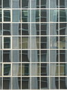 Glass Office Windows And Reflections Royalty Free Stock Photo
