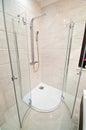 Modern shower Royalty Free Stock Photo