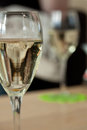 Glass prosecco drink Royalty Free Stock Image