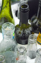 Glass recycling Stock Photography