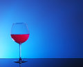 Glass of Red Wine Royalty Free Stock Photo