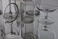 Glass reflexion Royalty Free Stock Photo
