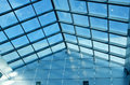 Glass roof Royalty Free Stock Image