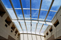 Glass roof Royalty Free Stock Photo
