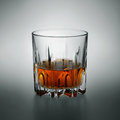 Glass scotch whiskey countertop Stock Images