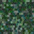Glass tiles seamless generated hires texture or background Stock Images