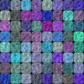 Glass tiles seamless generated hires texture or background Stock Photography