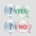Glass transparency speech bubble vector illustration eps Royalty Free Stock Photo
