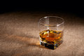 Glass of whisky Stock Photography