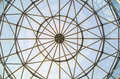 Glass window dome Royalty Free Stock Photo