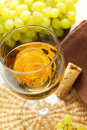 A glass of wine Royalty Free Stock Photos
