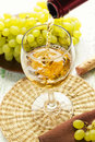 A glass of wine Royalty Free Stock Photography
