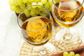 A glass of wine Royalty Free Stock Image
