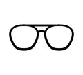 Glasses accessory isolated icon