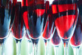 Glasses of red wine Royalty Free Stock Photo