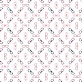 Glasses seamless pattern - vector spectacles