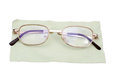 Glasses on a white background Royalty Free Stock Photography