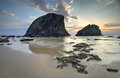 Glasshouse Rocks Narooma Royalty Free Stock Photo