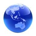 Glassy globe.Australia