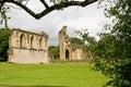 Glastonbury Abbey Royalty Free Stock Photo