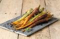 Glazed Baby Rainbow Carrots