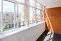 Glazed balcony Royalty Free Stock Photo