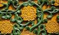 Glazed lotus background Royalty Free Stock Photo