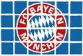 Glazed tiles bayern team