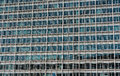 Glazing of the Berlaymont building, the seat of the European Com Royalty Free Stock Photo