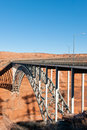 Glen Canyon bridge Stock Image