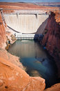Glen Canyon Dam Stock Images