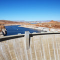 Glen Canyon Dam, Arizona. Royalty Free Stock Image