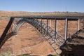 Glen Canyon Dam bridge, Page, Arizona Royalty Free Stock Photo