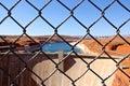 Glen Canyon Dam at Lake Powell Arizona Royalty Free Stock Photo