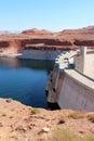 Glen Canyon Dam / Lake Powell Royalty Free Stock Photo