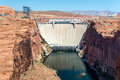 Glen Canyon Dam near Page, Arizona Royalty Free Stock Photo