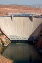 Glen Canyon Dam, near Page, Arizona Royalty Free Stock Photo
