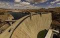 Glen Canyon Dam Royalty Free Stock Photo