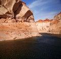 Glen Canyon, Lake Powell , Arizona Royalty Free Stock Photo