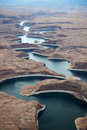 Glen Canyon National Recreation Area Royalty Free Stock Photos