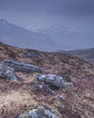 Glen shiel in the highlands of scotland Stock Images