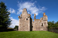 Glenbuchat castle aberdeenshire scotland near kildrummy is a z plan fortress built in by the gordon family it was confiscated from Royalty Free Stock Images