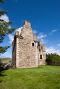 Glenbuchat castle aberdeenshire scotland near kildrummy is a z plan fortress built in by the gordon family it was confiscated from Stock Photography