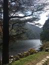 Glendalough lake and Woodland