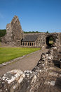 Glenluce abbey dumfries and galloway scotland is a ruined cistercian founded in and with historic connections to robert the Royalty Free Stock Images