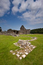 Glenluce abbey dumfries and galloway scotland is a ruined cistercian founded in and with historic connections to robert the Stock Images