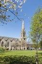 Glenmuick Church in Ballater, Scotland. Royalty Free Stock Photo