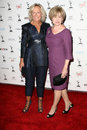 Glenn close mary kay place and at the nd primetime emmy awards performers nominee reception spectra by wolfgang puck pacific Royalty Free Stock Image